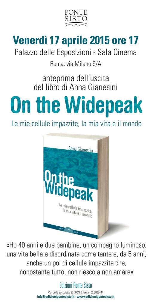 Venerdì 17 aprile 2015 ore 17 Palazzo delle Esposizioni - Sala Cinema Roma, via Milano 9/A anteprima dell'uscita del libro di Anna Gianesini